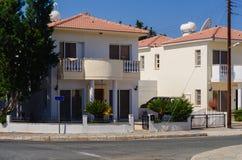 Härlig modern villa i Cypern Royaltyfri Fotografi