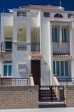 Härlig modern villa i Cypern Arkivbild