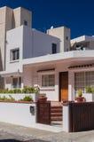 Härlig modern villa i Cypern Arkivfoton