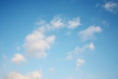 härlig molnig sky Royaltyfri Fotografi