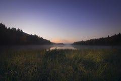 Härlig morgon i Mont-Tremblant Fotografering för Bildbyråer