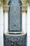 härlig moroccan paviljong Fotografering för Bildbyråer