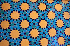 Härlig mosaikvägg Royaltyfria Foton