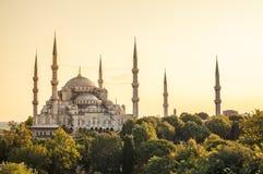 härlig moské Arkivfoton