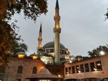 Härlig moské i Istanbul Arkivfoto