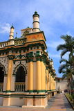 härlig moské singapore Arkivfoton