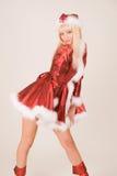 härlig mrs santa Fotografering för Bildbyråer