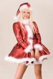härlig mrs santa Royaltyfria Foton