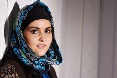 Härlig Muslimflicka Royaltyfria Bilder