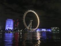 Härlig natt ut i London Royaltyfria Foton
