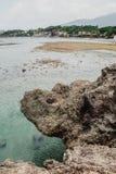 Härlig natur av Puerto Plata, Dominikanska republiken Arkivbild