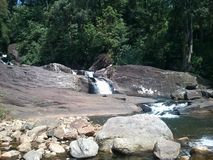 Härlig natur och floder av Sri Lanka Arkivbild