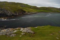 Härlig natur på Shetland öar Royaltyfri Bild