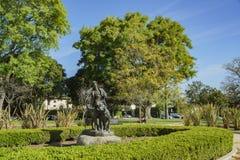 Härlig naturplats runt om Beverly Gardens Park Fotografering för Bildbyråer