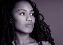 härlig nigeriansk kvinna Fotografering för Bildbyråer