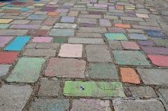 Härlig och färgrik jordning Arkivbild