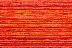 Härlig orange textilbakgrund Royaltyfri Bild