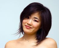 härlig orientalisk sexig kvinna Arkivfoto
