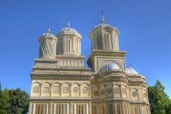 härlig ortodox hdrbildkloster Fotografering för Bildbyråer