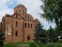 Härlig ortodox kyrka i Ryssland Arkivfoton
