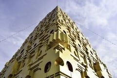 Härlig pagod med blå himmel Arkivbilder