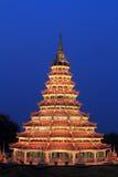 härlig pagoda Arkivfoton