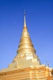 härlig pagoda Arkivbild