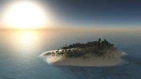 Härlig panorama av havet Royaltyfri Fotografi