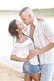 härlig parförälskelse Royaltyfri Fotografi