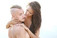härlig parförälskelse Royaltyfri Foto
