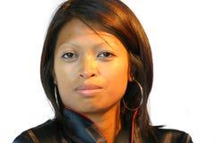 härlig philipinnekvinna Fotografering för Bildbyråer