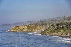 Härlig plats runt om punkt Fermin Lighthouse Royaltyfri Bild