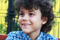 härlig pojke Royaltyfria Bilder