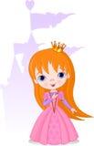 härlig princess Royaltyfri Fotografi