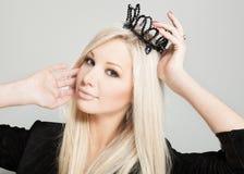 Härlig princess royaltyfria foton