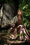 härlig princess arkivfoton