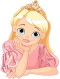 härlig princess Arkivbild