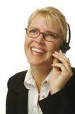härlig receptionist Royaltyfri Bild