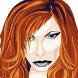 Härlig Redhead Arkivbild