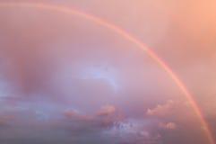 härlig regnbåge Fotografering för Bildbyråer