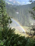 härlig regnbåge Royaltyfri Bild