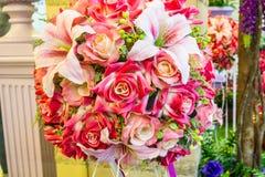 Härlig rosa plast- Royaltyfria Foton