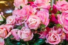 Härlig rosa plast- Royaltyfri Foto