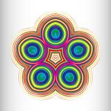 Härlig rund modell för din design Royaltyfri Bild