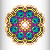 Härlig rund modell för din design Royaltyfri Fotografi