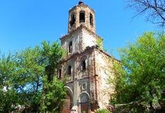 Härlig rysk kyrkapåsk, vår någonstans i hjärtan av Ryssland arkivbilder
