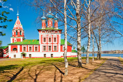 Härlig rysskyrka arkivbilder