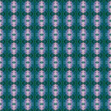 Härlig sömlös östlig mattgarneringmodell, abstrakt prydnad av rundan och fyrkant eller rombbeståndsdelar Texturbackgen Royaltyfria Bilder
