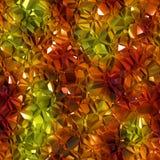 Härlig sömlös crystal tolkning för backgound 3d