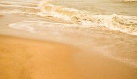 Härlig sandstrand & x28; sandy& x29; Royaltyfria Foton
